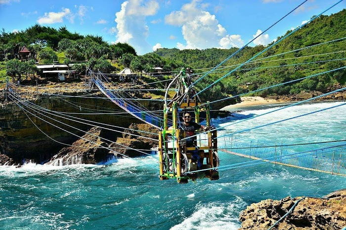Harga Tiket Dan Peta Lokasi Pantai Siung Gunung Kidul Camera Wisata