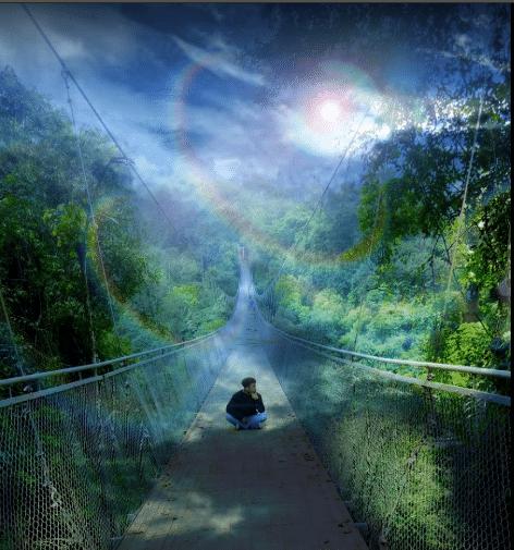 Jembatan Gantung Situ Gunung Sukabumi 3