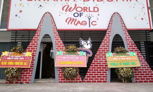 world of magic Jogja Indonesia