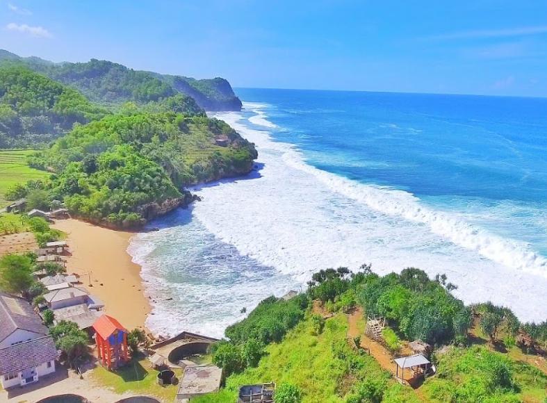 Pesona Lokasi Dan Harga Tiket Pantai Indrayanti Jogja Camera Wisata