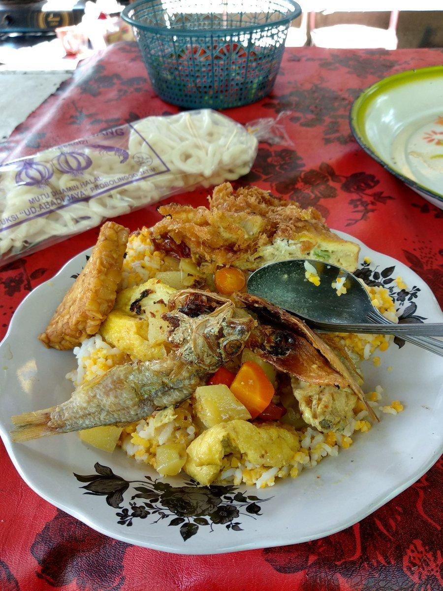 Nasi Jagung Merpati Khas Probolinggo